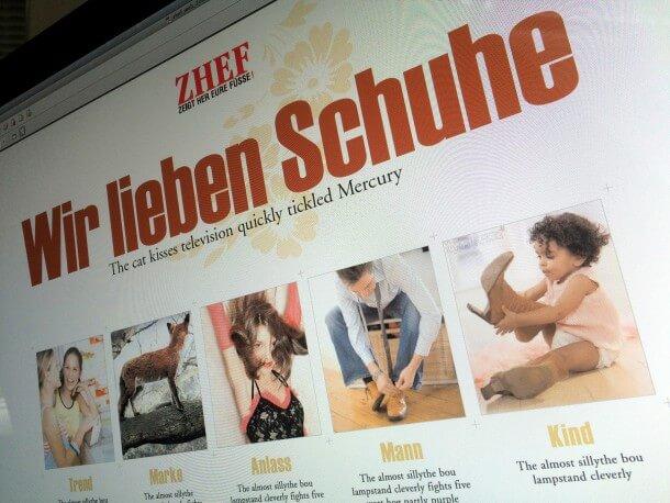 Webdesign zhef