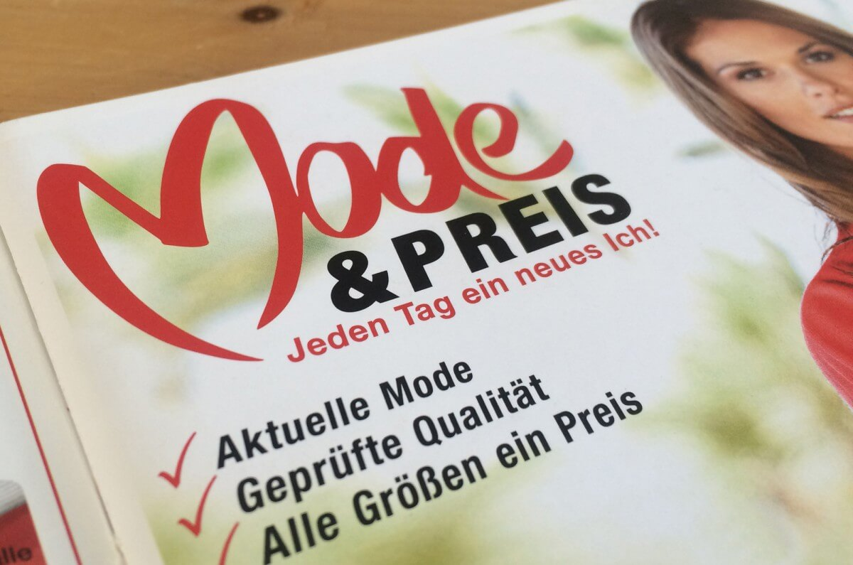 Mode & Preis & neues Logo