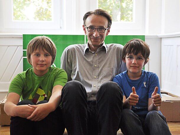 EM 2012 Gewinner Béla Berec und Söhne