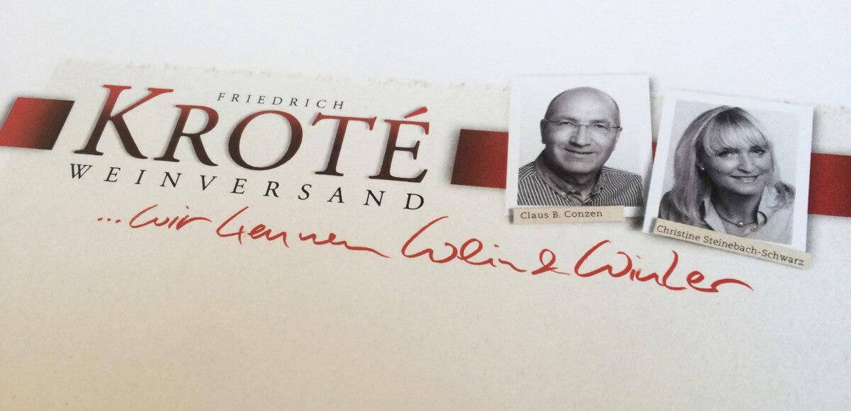 Mailing Kroté Weinversand
