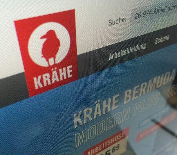 Relaunch KRÄHE Webshop