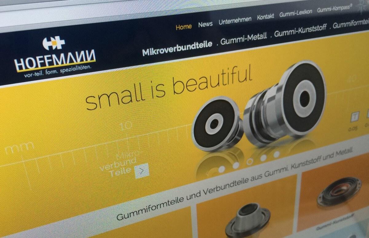 Hoffmann GmbH – Mikroverbundteile ganz groß