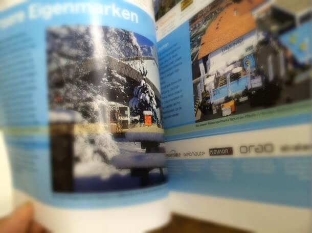 Decathlon Broschuere