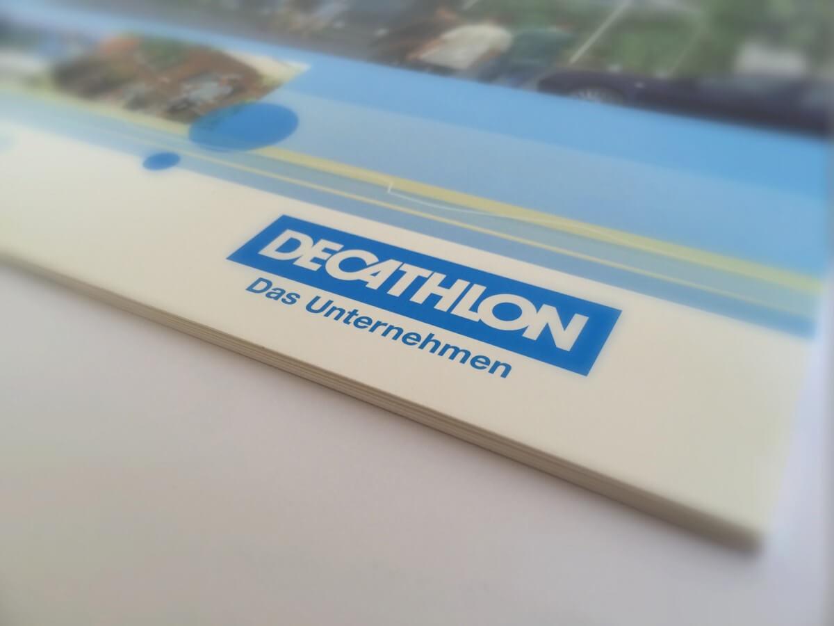 Mitarbeiter-Broschüre Decathlon