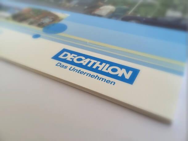 Decathlon Mitarbeiter-Broschüre