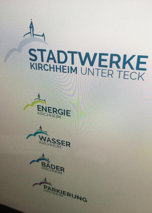 Logovarianten Stadtwerke Kirchheim unter Teck