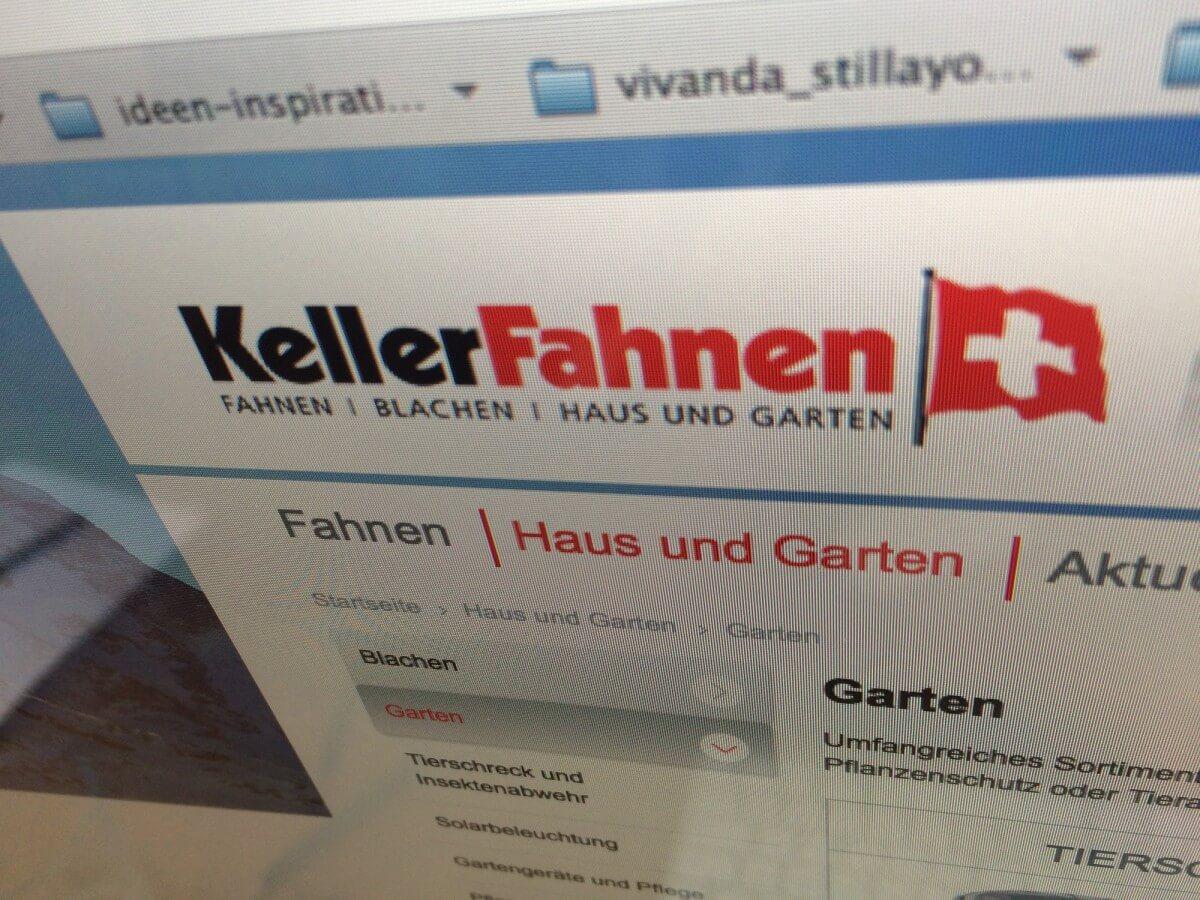 Schau mal was da weht… neues Logo für KellerFahnen