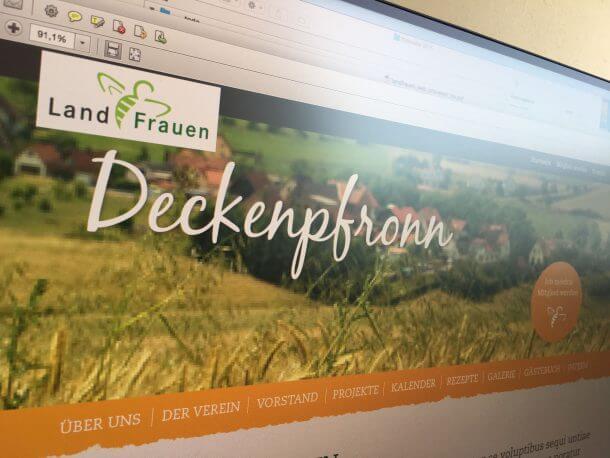 LandFrauen Webseite