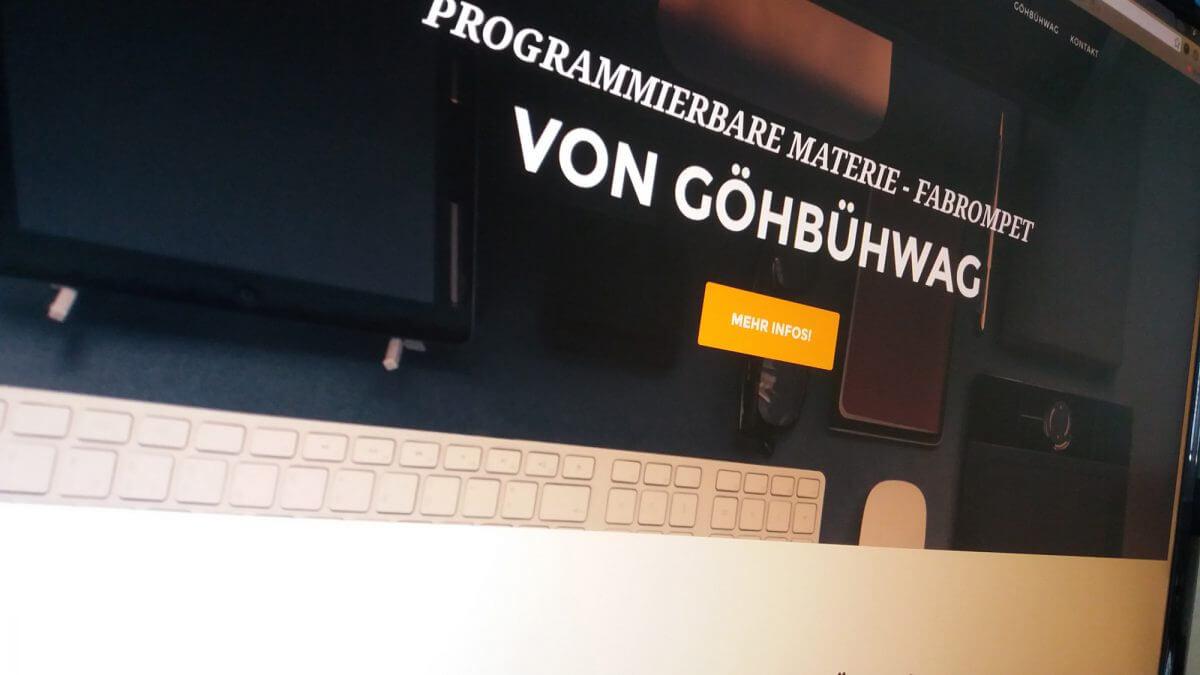 Programmierbare Materie von GöhBühWag