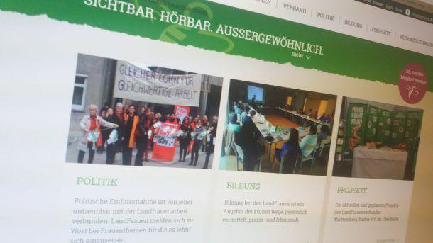 Landfrauen BW Webseite