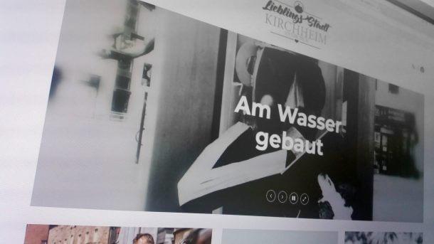 Lieblingsstadt Kirchheim Webseite