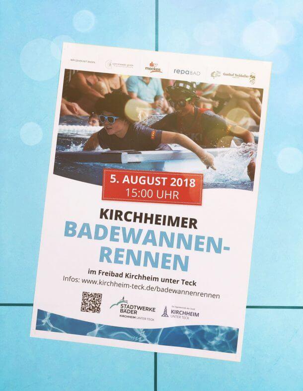 Kirchheimer Badewannenrennen