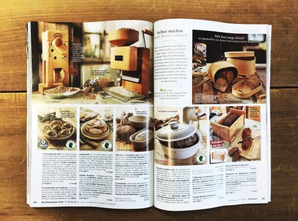 Waschbär Katalog