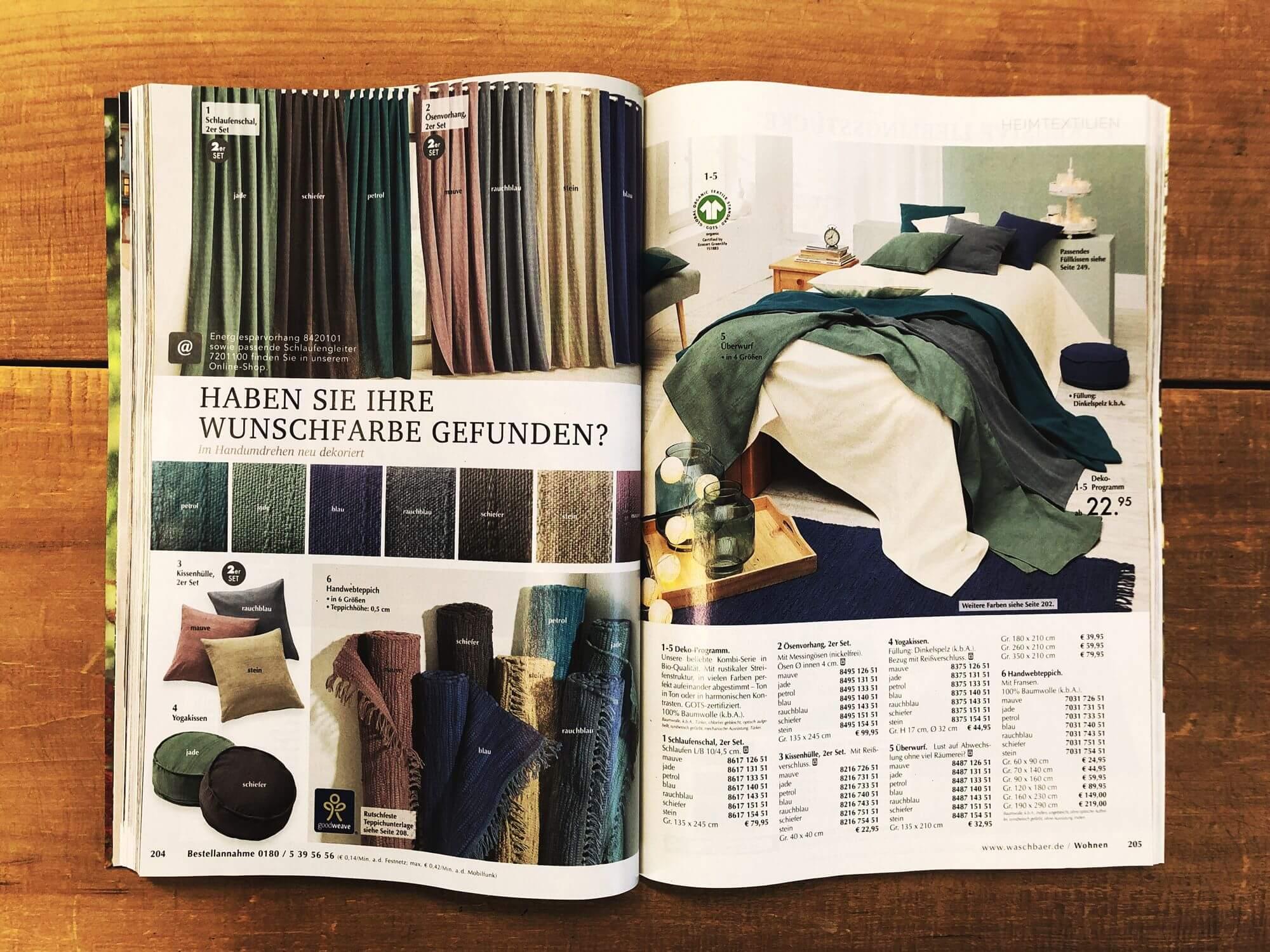 901bb1be88e35a Der neue Waschbär Katalog 2019 - bzweic