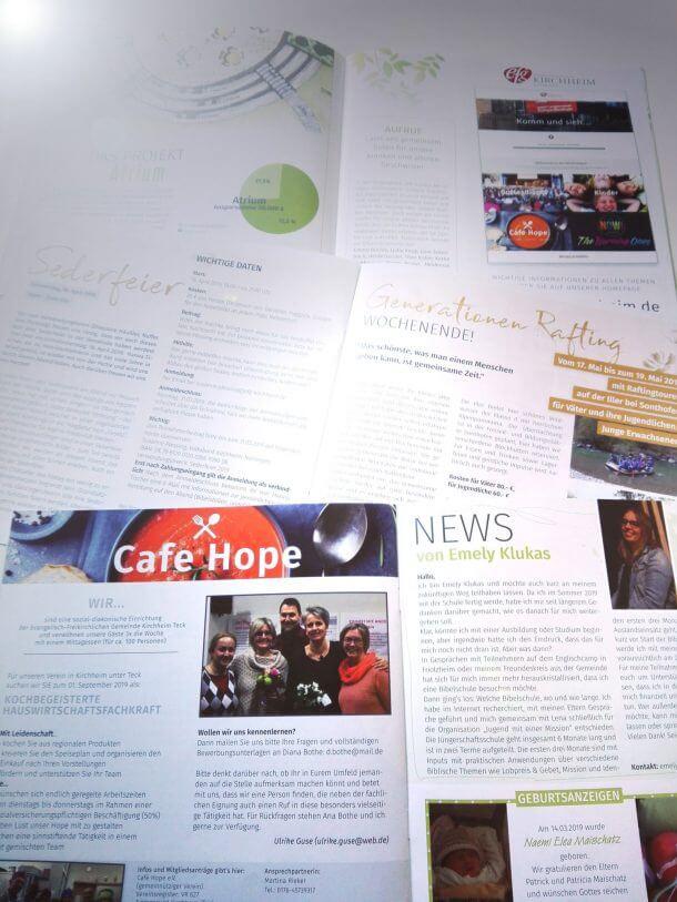 EFG Gemeindebrief