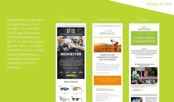 Newsletter von bzweic GmbH mit Clever Reach