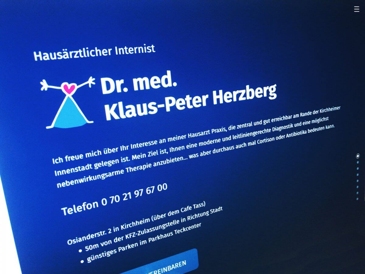 Diagnose: Onepager positiv