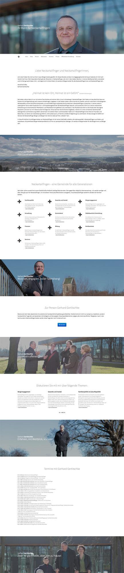 Gerhard Gertitschke Webseite
