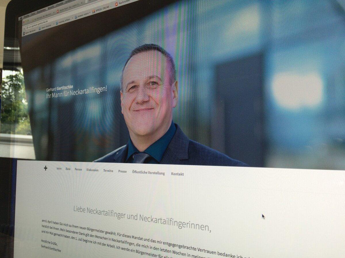 Gerhard Gertitschke – Bürgermeister für das schöne Neckartailfingen!