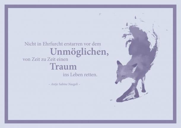 Postkarte Traum