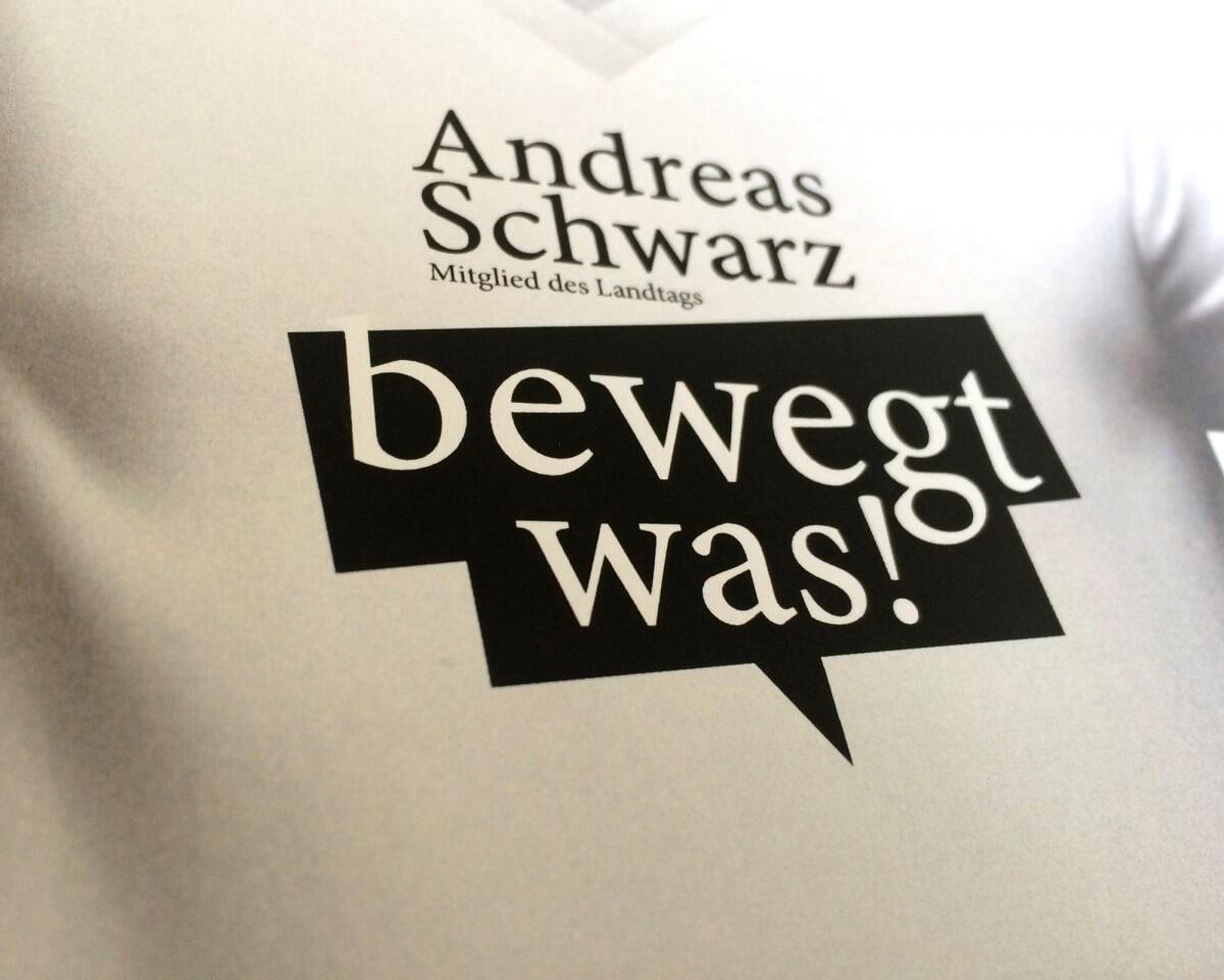 Plakatkampagne Andreas Schwarz