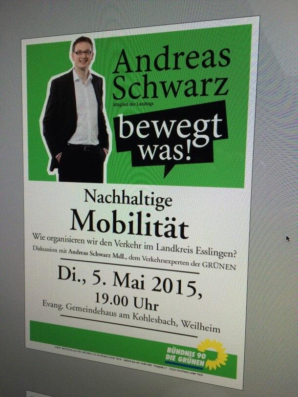 Andreas Schwarz Mobilität