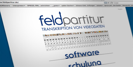Website Feldpartitur