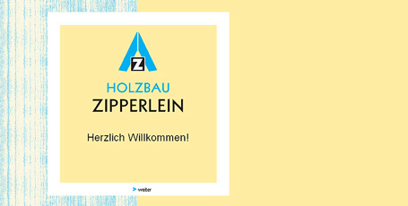 Website Holzbau Zipperlein