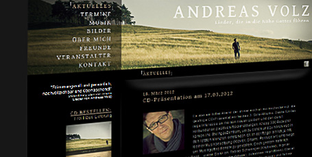 Website Andreas Volz