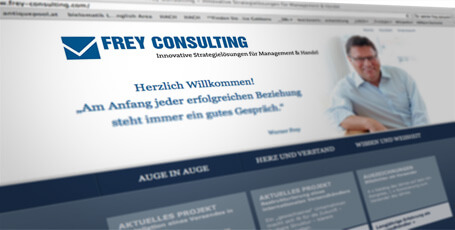 Website Werner Frey